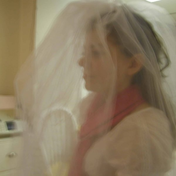 No Sew Wedding Veil DIY