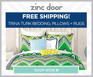 Zinc Door 15 Percent Off