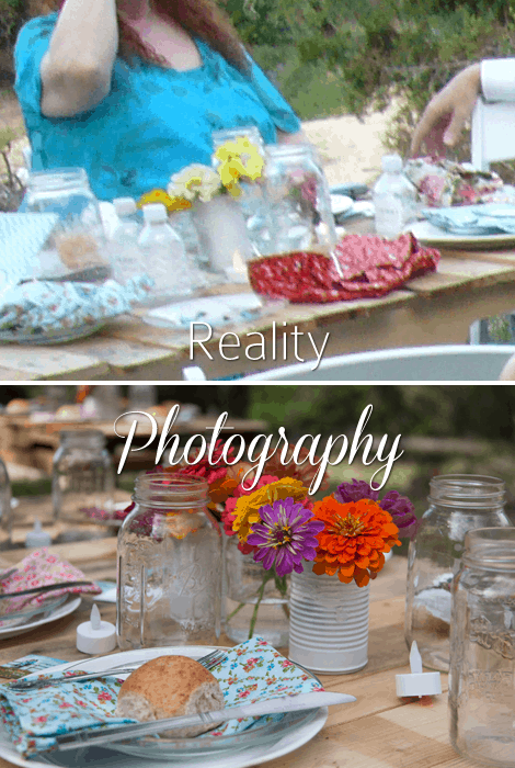 Reality Photography Wedding Reception Table Settings