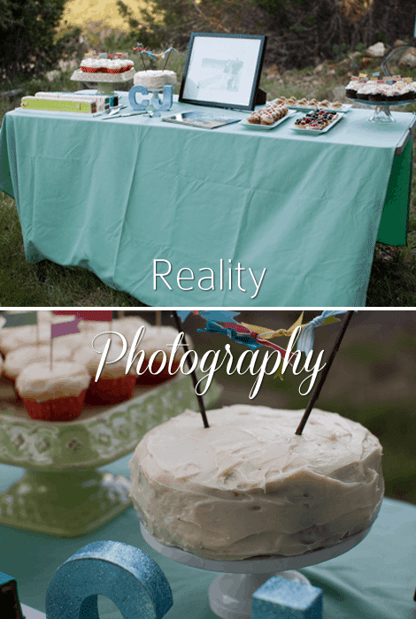 Reality Photography Wedding Cake