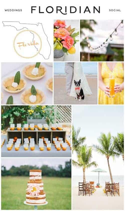 Florida State Wedding Inspiration
