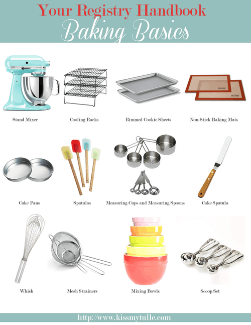 The Registry Handbook: Baking Basics