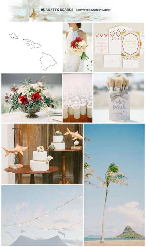 Hawaii State Wedding Inspiration