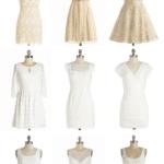Short White Wedding Dresses from ModCloth