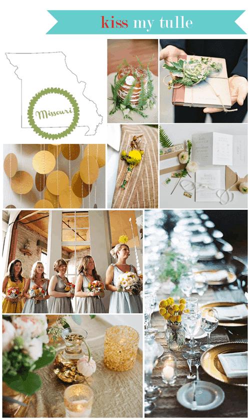 Missouri State Wedding Inspiration