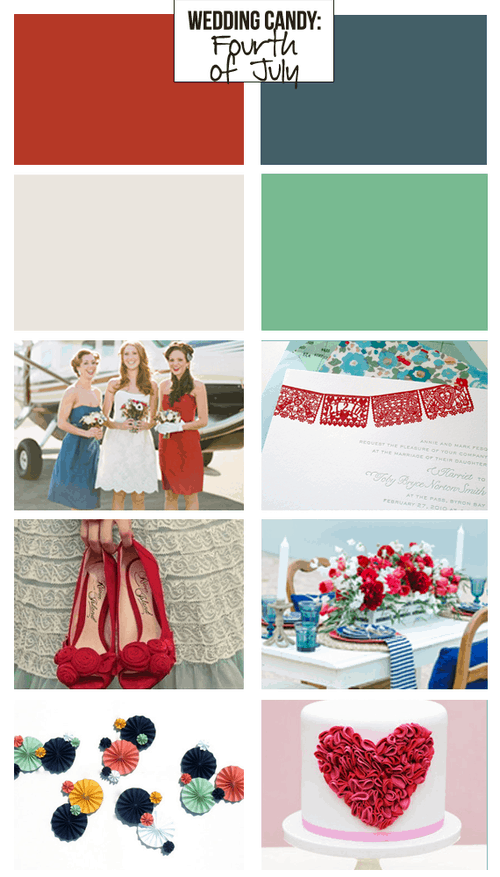Wedding Candy: Inspired by the Fourth of July