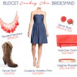 Budget Cowboy Chic Bridesmaid Look