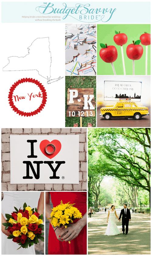 New York State Wedding Inspiration