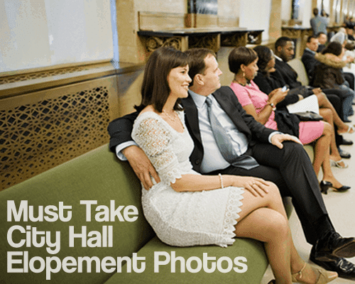 Must Take City Hall Elopement Photos