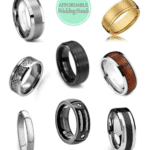 Affordable Wedding Bands for the Groom – All for Under $30.00!
