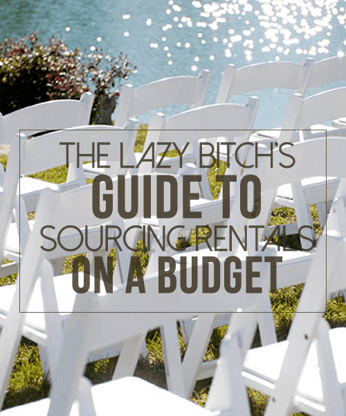 The Lazy Bitch's Guide to Sourcing Rentals on a Budget
