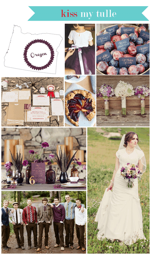 Oregon State Wedding Inspiration