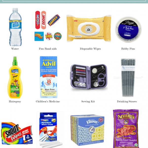 A Wedding Day Emergency Kit Checklist (for the Kiddos)
