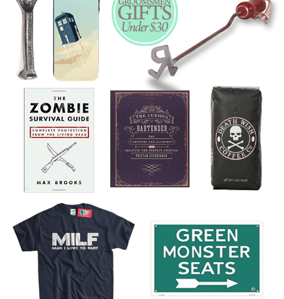 Great Groomsmen Gifts for Under $30