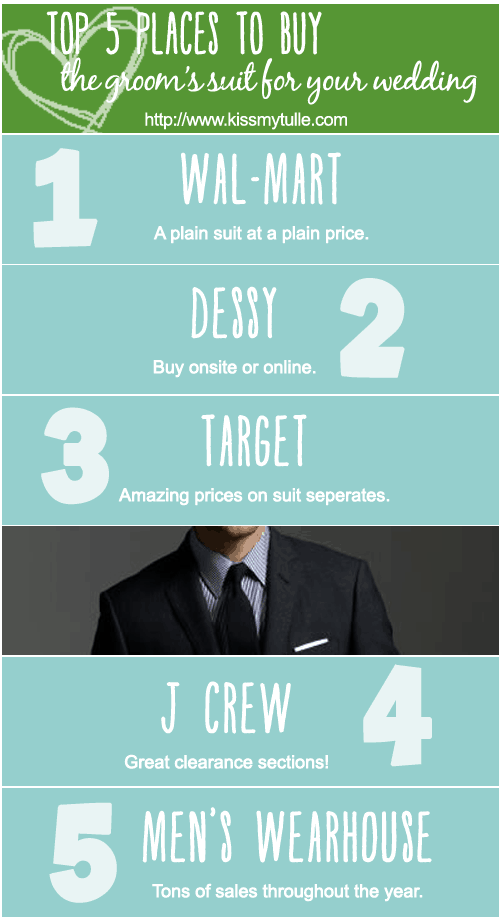 Top 5 Places to Buy the Groom's Suit for Your Wedding
