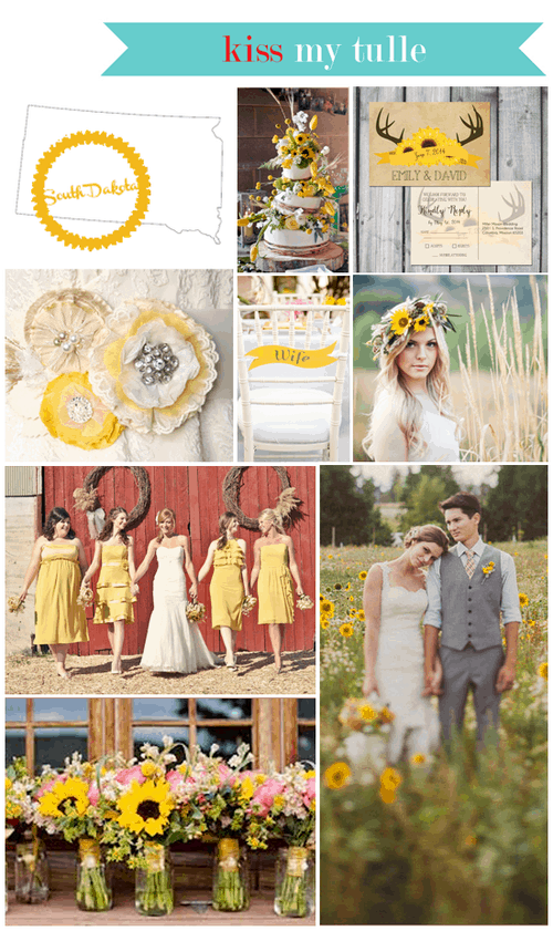 South Dakota State Wedding Inspiration