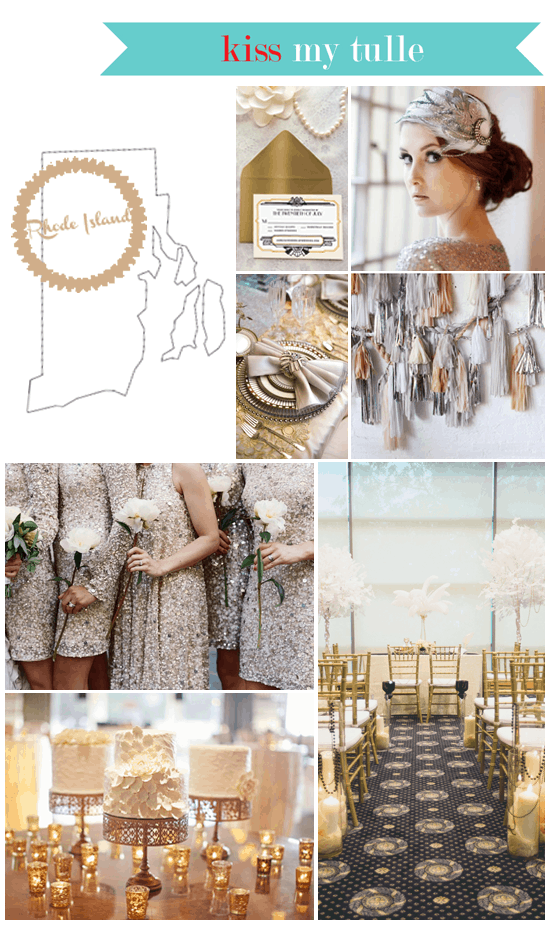Rhode Island State Wedding Inspiration