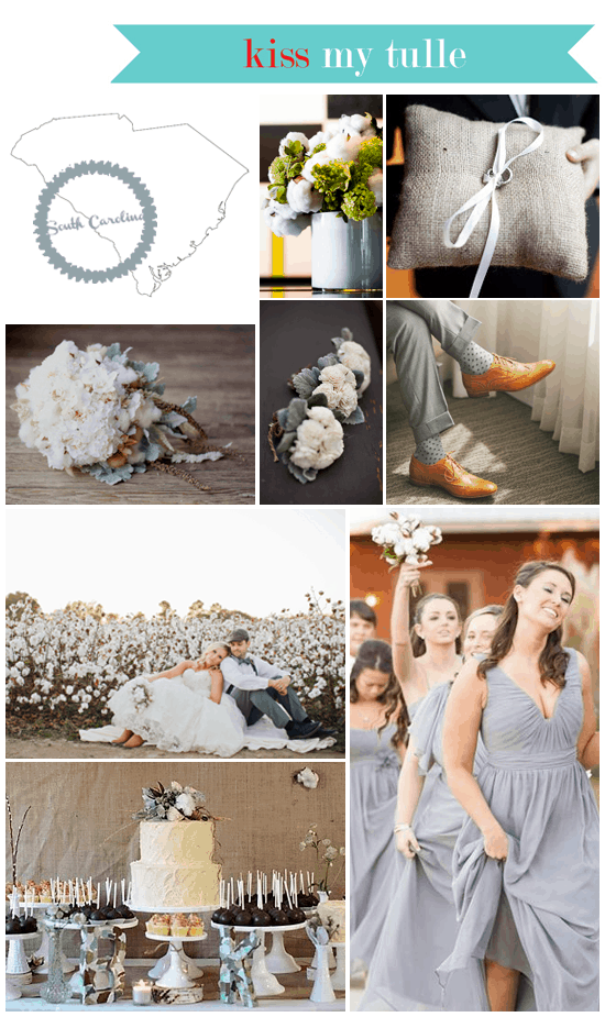 South Carolina State Wedding Inspiration
