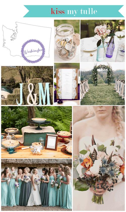 Washington State Wedding Inspiration