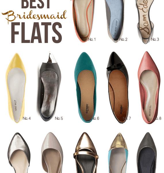 13 Best Bridesmaid Flats