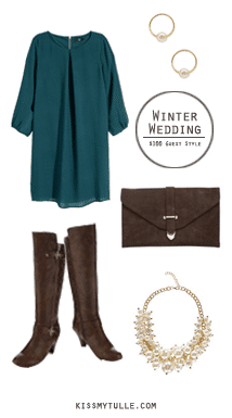 Winter Wedding: $100 Guest Style