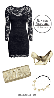 Winter Wedding: $60 Guest Style