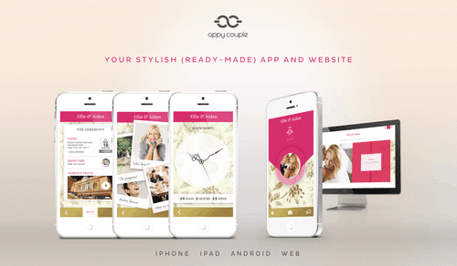 Appy Couple – The Best Way to Create Your Stylish and Social Wedding Website and App