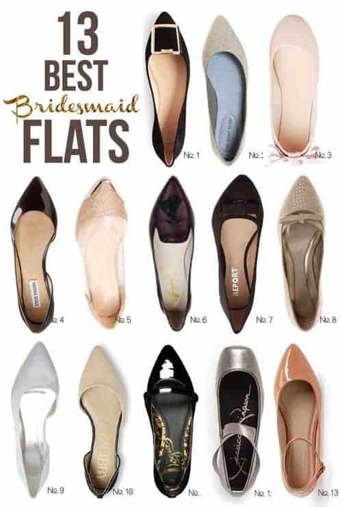 13 Best Bridesmaid Flats