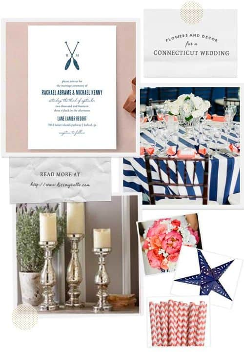 Check out these suggestions for flowers and decor for a Connecticut wedding: