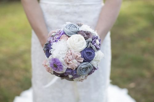 Cory and Mae's Elegant $4,000 Gray and Lavender DIY Wedding in Virginia || Maria Grace Photography