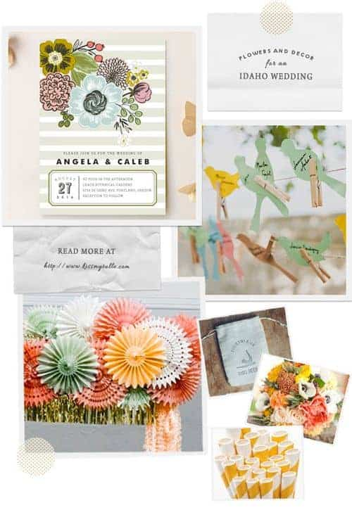 Idaho is known for its lovely wildlife and all the wonderful birds in the state! Then check out these suggestions for flowers and decor for an Idaho wedding!