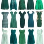Chic and Affordable Green Bridesmaid Dresses