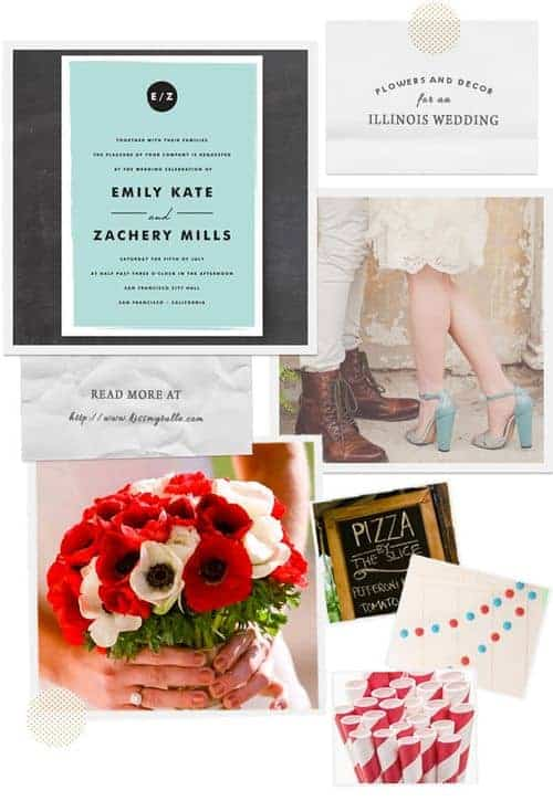 Check out these suggestions for flowers and decor for an Illinois wedding!