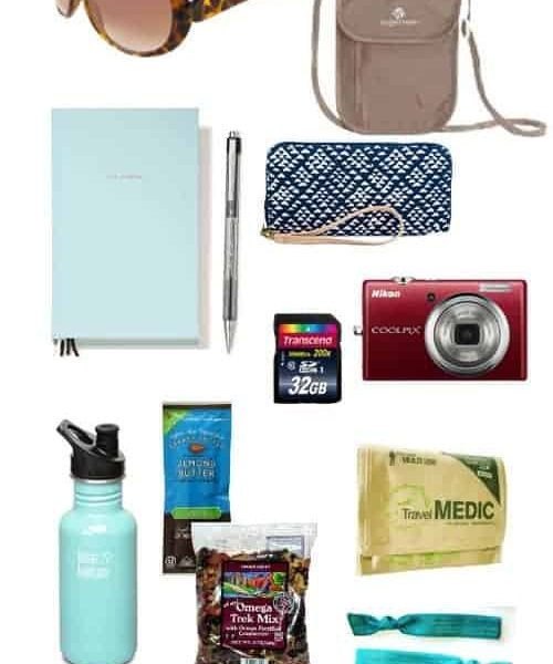 What to Pack in Your Honeymoon Sightseeing Bag