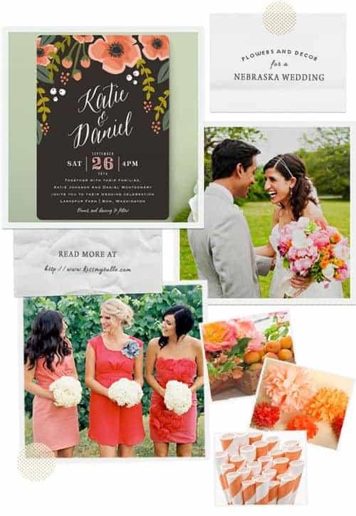 Flowers and Decor for a Nebraska Wedding || Kiss My Tulle