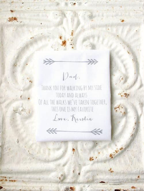 San Antonio lifestyle blogger, Cris Stone, shares five great ways the bride can show the Father-of-the-Bride a little wedding day love. Find out more!