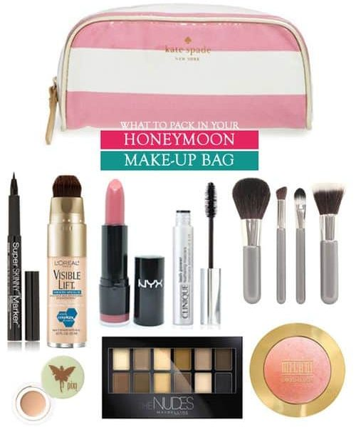 What to Pack in your Honeymoon Make-Up Bag