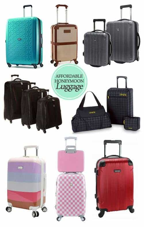 Affordable Honeymoon Luggage for Under $100 || Kiss My Tulle