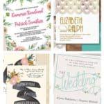 The Best Printable Wedding Invitations on Etsy