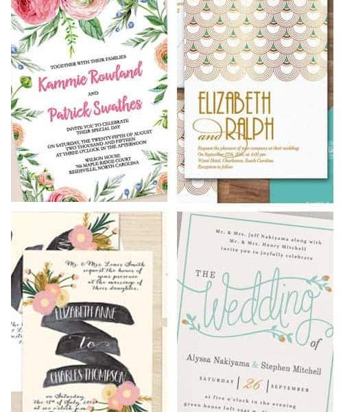 The Best Printable Wedding Invitations on Etsy