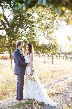 Jessica and Sebastian's Budget DIY Farm Wedding || Photo by: Kathryn Rummel