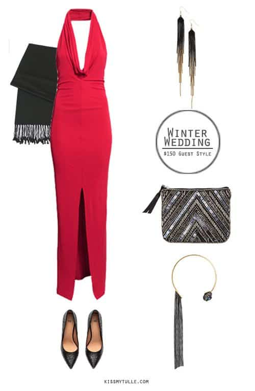 Winter Wedding Guest Style for Under $150