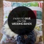5 Ways to Save on the Wedding Bands