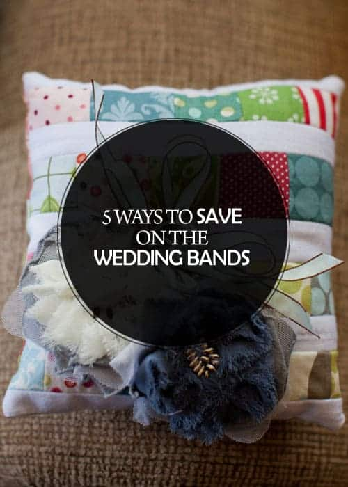 5 Ways to Save on the Wedding Bands || Kiss my Tulle
