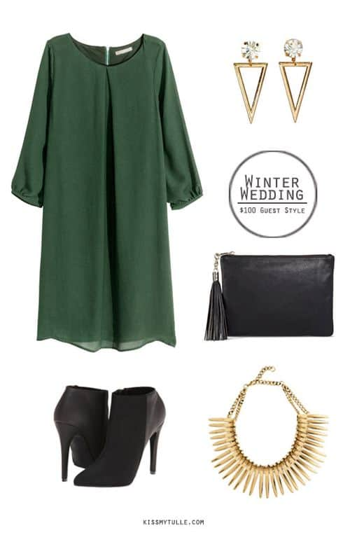 Winter Wedding Guest Style for Under $100