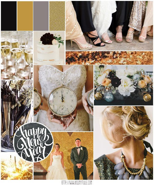 New Year's Wedding Inspiration