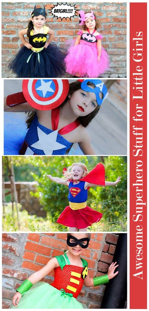 Awesome Superhero Stuff for Little Girls: Costumes and Cosplay #GirlsLoveSuperheroesToo