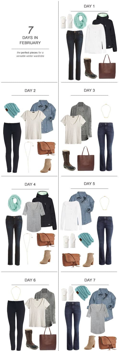 7 Days in February : The Perfect Pieces for a Versatile SAHM Winter Wardrobe