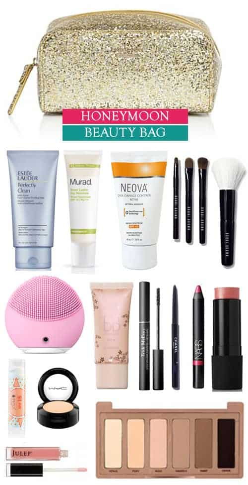 What to Pack in your Honeymoon Beauty Bag