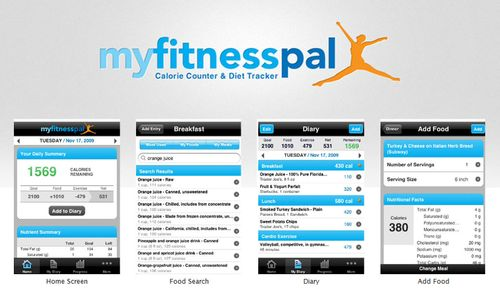 Sign up for My Fitness Pal for FREE!